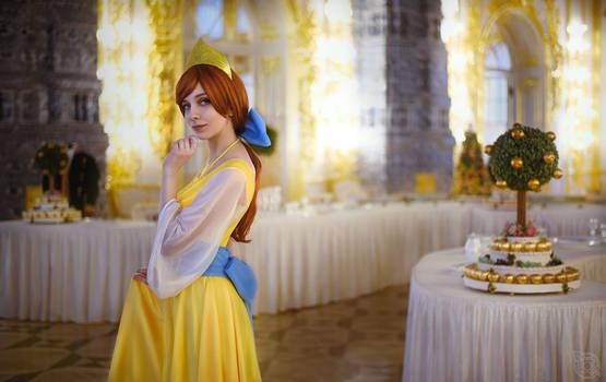 Anastasia cosplay