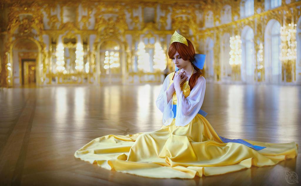 Anastasia cosplay by NodameR