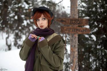 Anastasia (1997) - Anastasia cosplay