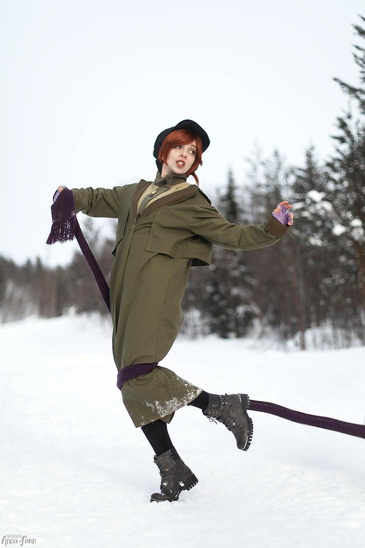 Anastasia (1997) - Anastasia cosplay by NodameR