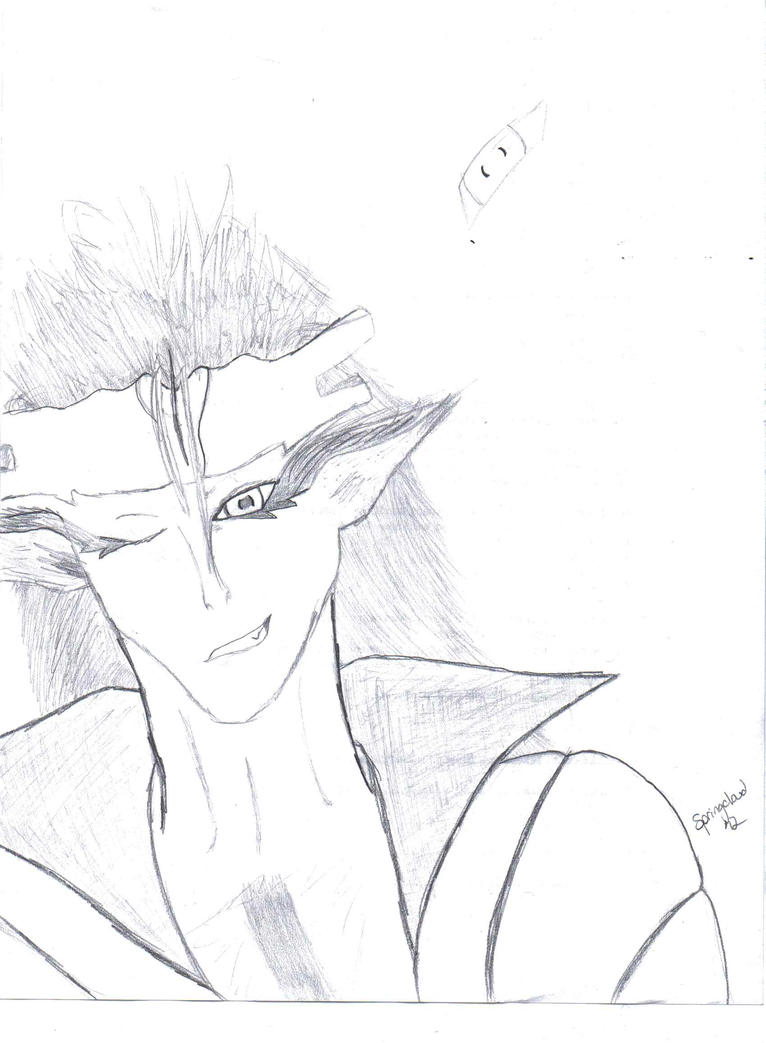 Grimmjow sketch by Springcloud
