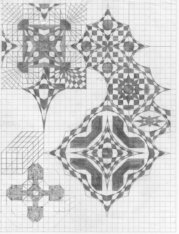 Graphic Nebula by x19a