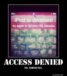 DEMOTIVATOR: Access Denied