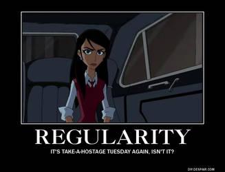 DEMOTIVATOR: Regularity
