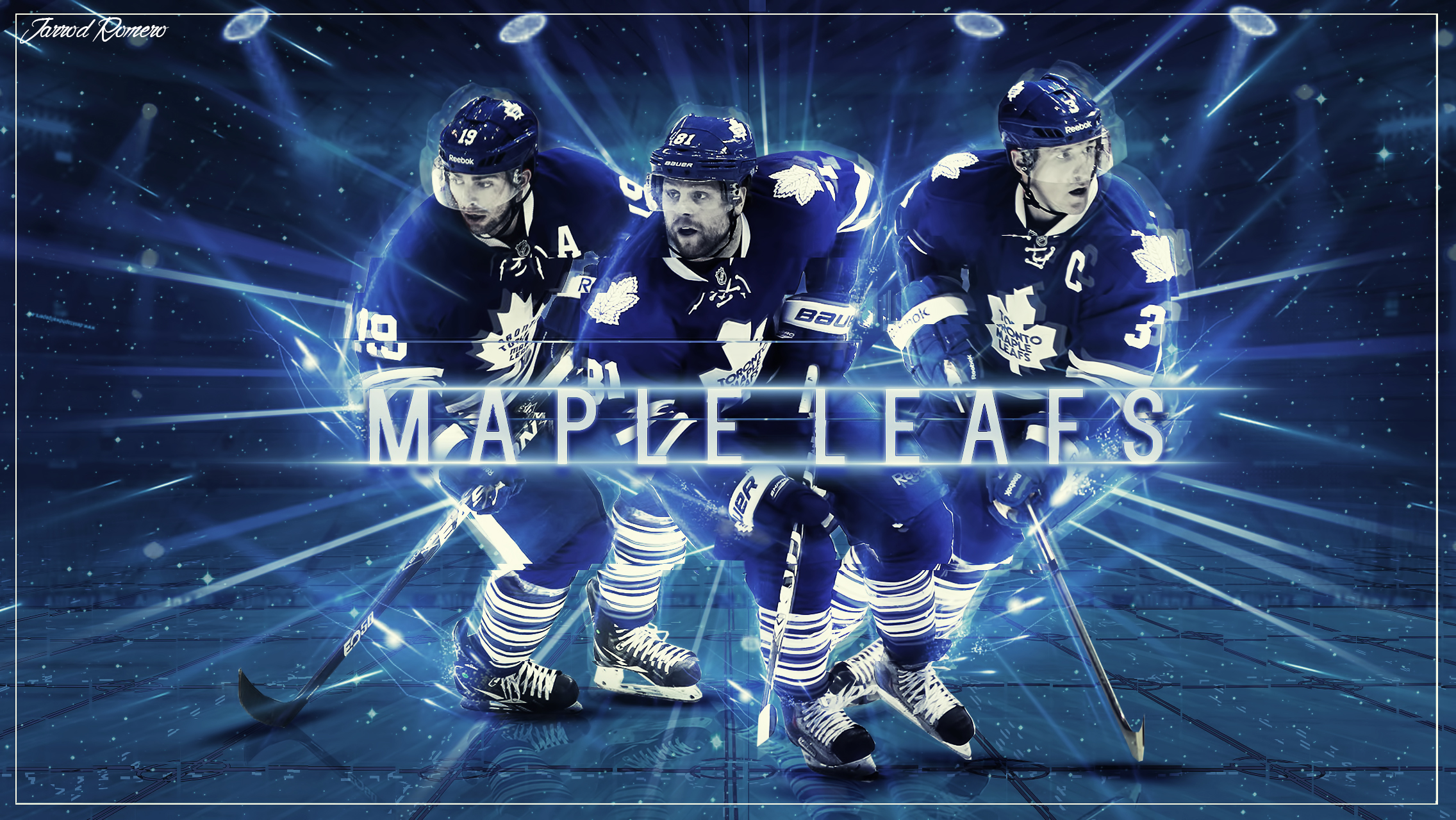 Toronto Maple Leafs Wallpaper By Burstingdesigns On Deviantart