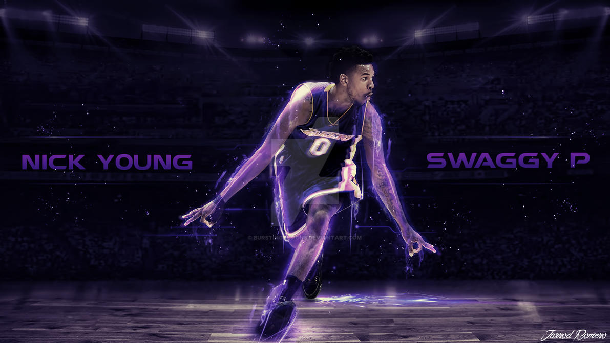 Nick Young Wallpaper By Burstingdesigns