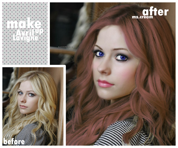 avril lavigne makeup. Makeup - Avril Lavigne by