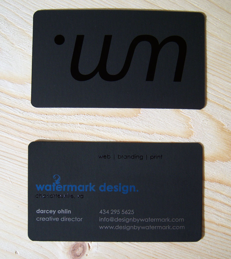 Watermark Design Business card by rizn