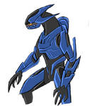 Halo Infinite Elite Sketch