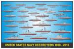 US Navy Destroyers Print