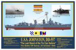 USS Johnston, DD-557 Print