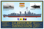 USS Johnston, DD-557 Print