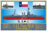 USS Texas, BB-35 Print