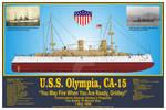 USS Olympia, CA-15 Print