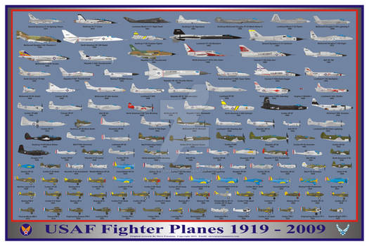 USAF Fighters 1919-2009 Print Version 2