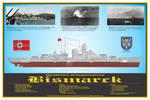 Battleship Bismarck Print
