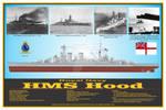 Battlecruiser HMS Hood Print