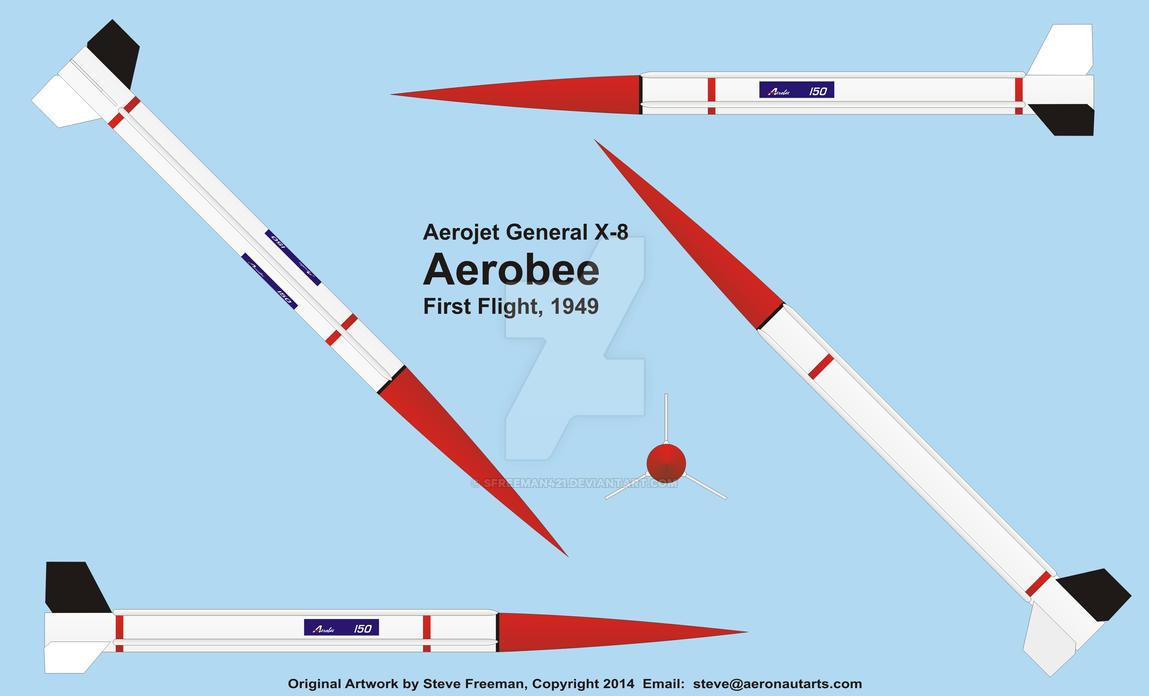 aerojet general x 8 aerobee by sfreeman421 on deviantart