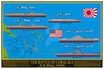 Battle of Coral Sea Print
