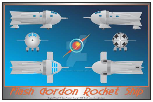 Flash Gordon Print
