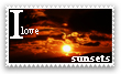 I love sunsets Stamp by PhotoNick05-12