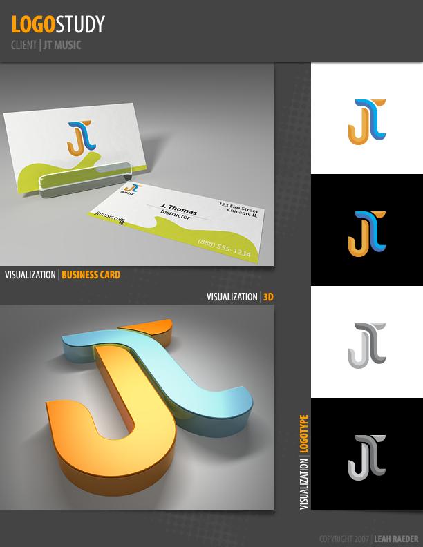 Logo Study: JT Music by leahzero