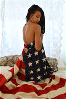Happy 4th of July!  Beauty Wrapped in Glory by Saledin