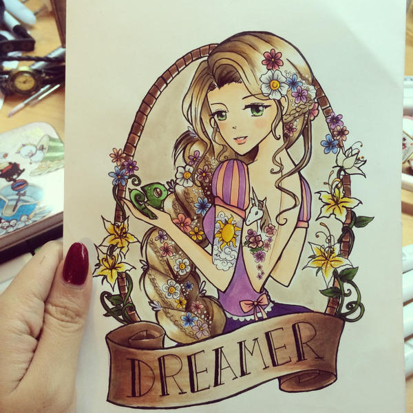 Dreamer by Peahedge