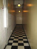 Checkered Hallway by SiberianClover-Stock