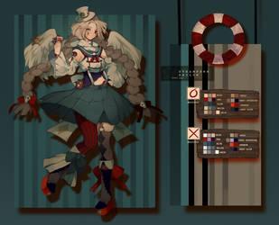 +Speedpaint | Steampunk Sailor! [Closed] | Set Pr. by Hoshi-Pan