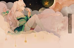 Cloudy Night | [CM] + SPEEDPAINT by Hoshi-Pan