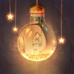 Light Bulb . by Hoshi-Pan