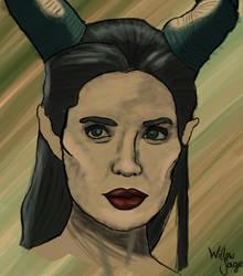 Maleficent by xMysteryWriter