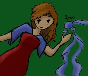 Ilona the Waterbender by xMysteryWriter