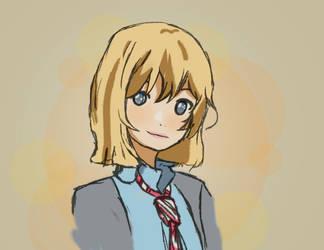 Kaori by xMysteryWriter