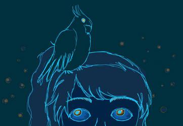 Lilo the bird by xMysteryWriter