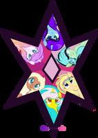Harmony Star With Bpffs ^^ by xXMelody-ScribbleXx