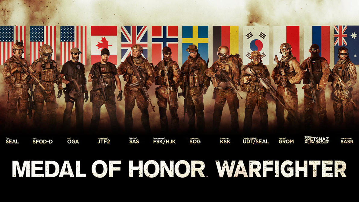 Medal of Honor Warfighter Wallpaper #12 by xKirbz