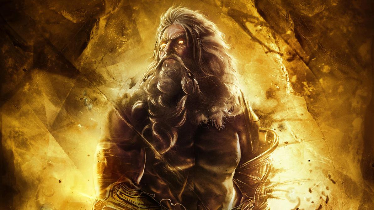 God of War  Ascension Zeus Wallpaper by xKirbzZeus Hd Wallpaper