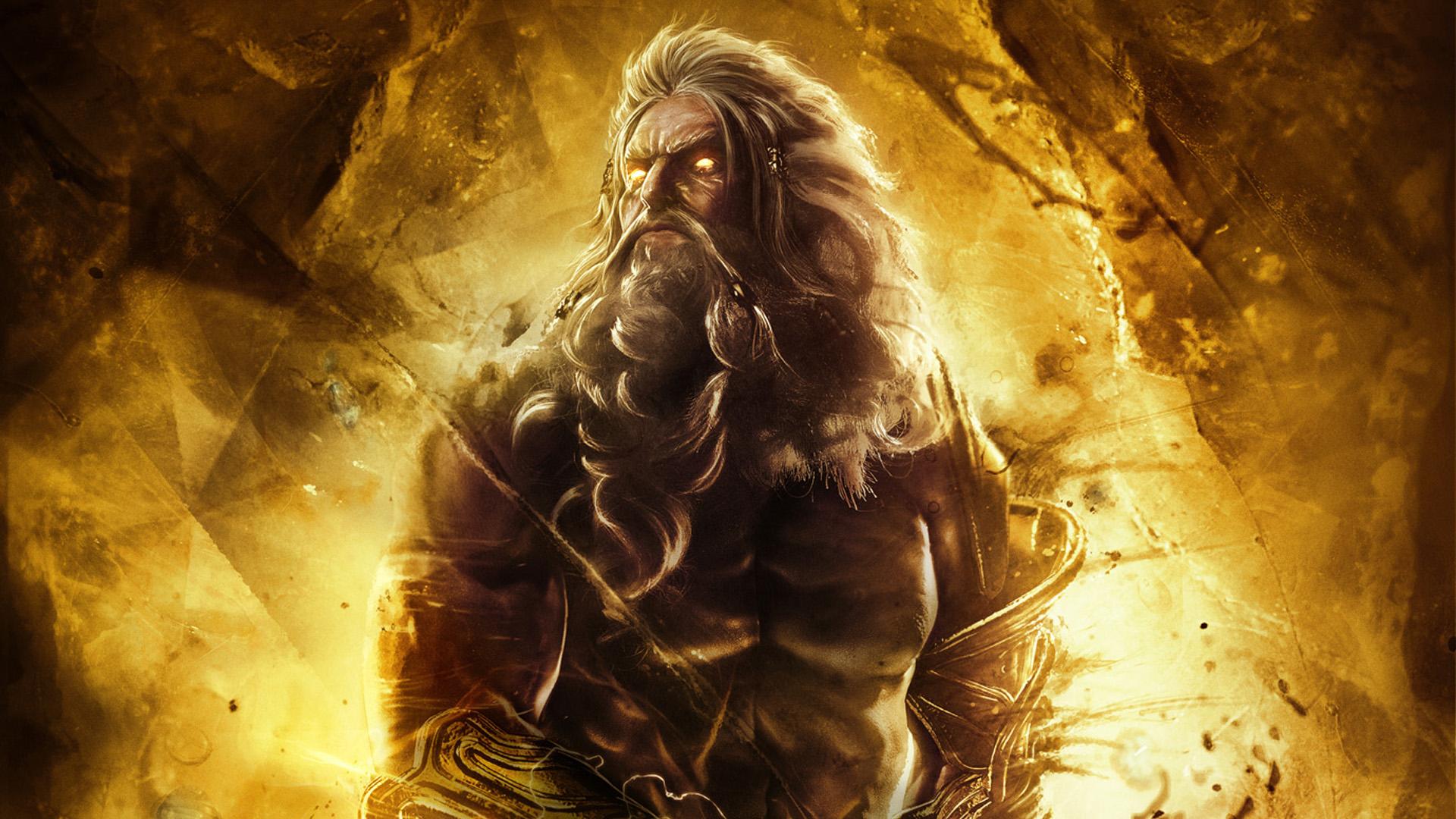 XKirbz 68 0 God Of War Ascension Zeus Wallpaper By