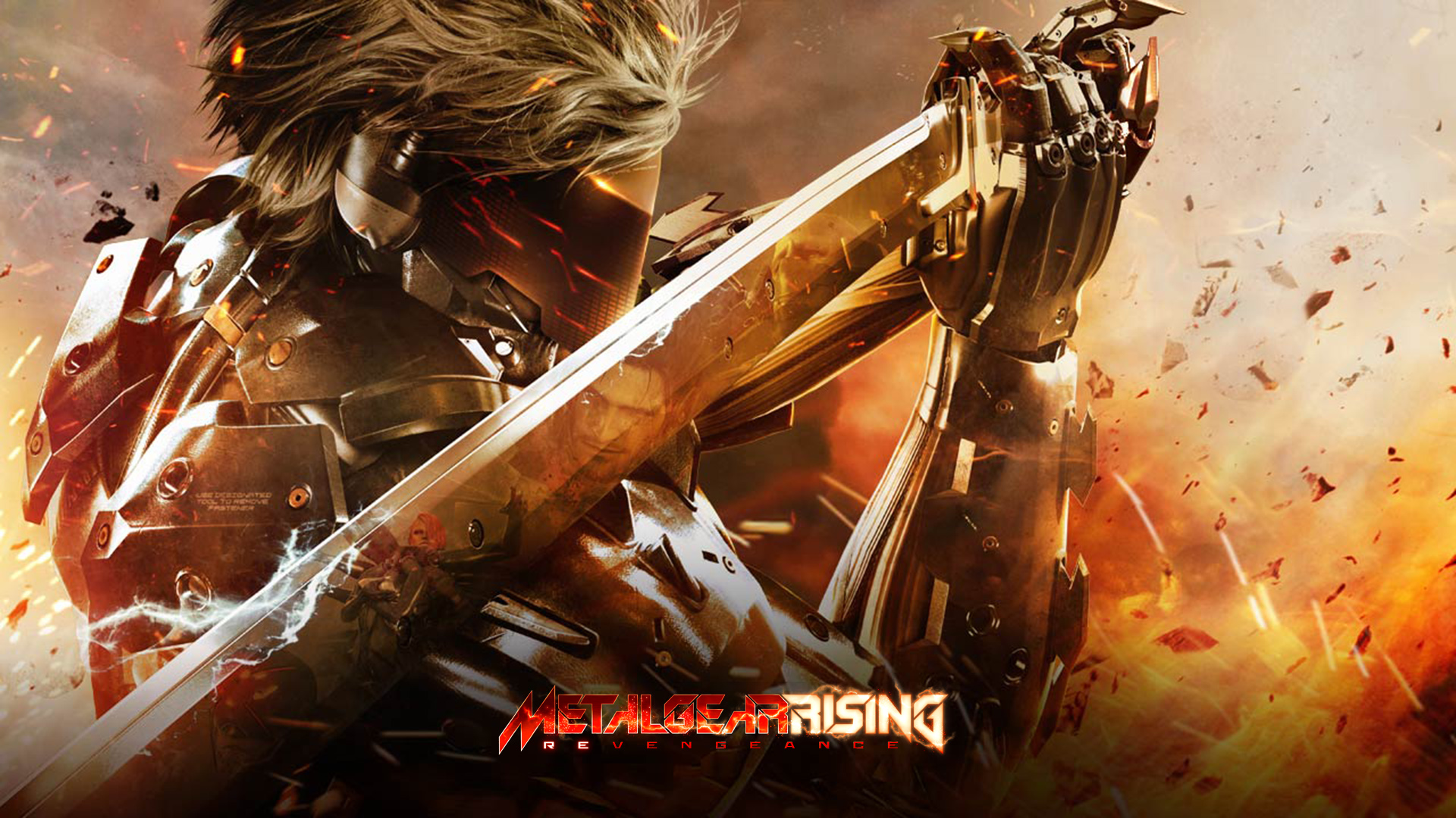 MGR: Revengeance Red Raiden Wallpaper by xKirbz