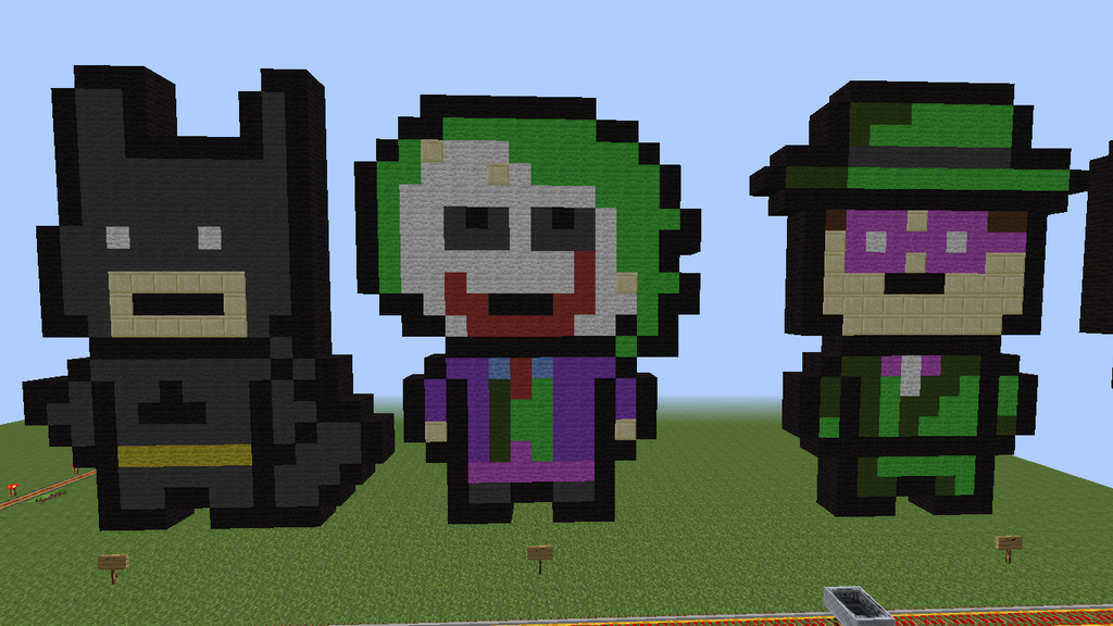 Minecraft Batman Pixel-Art By Pickle101101 On DeviantArt