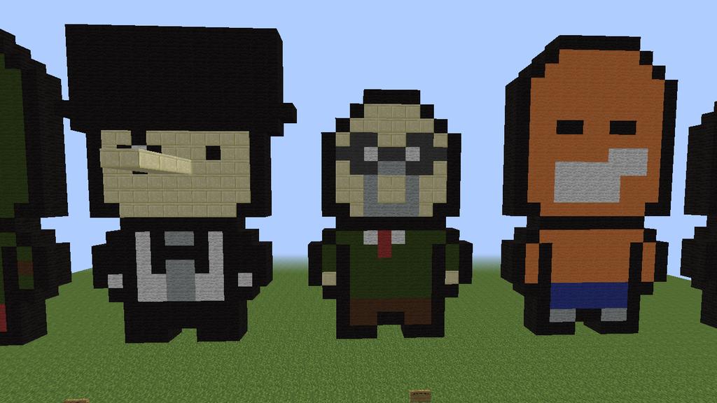 Xoloitzcuintli Fc Minecraft Batman Pixel...