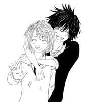 Leo and Yuiko - Beast Master - by Myaku-nya