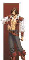 Captain Allan Pain by Aerawen-Vanhouten