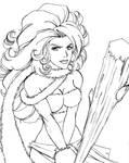 Ayla Sketch