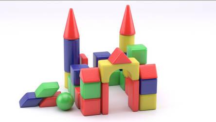 A cubic castle
