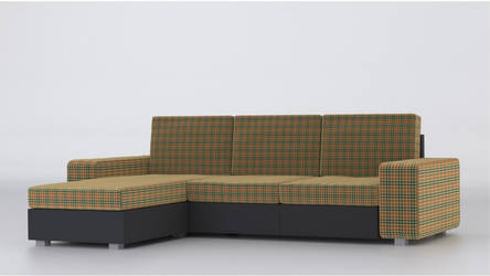 Triple couch