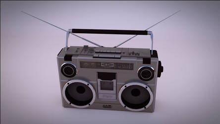 Boombox from 90s