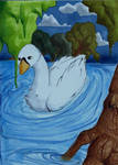 Swan by AtomicIceCream